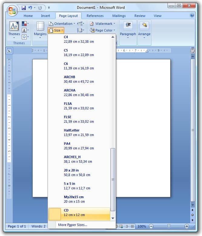 pdf printer windows 7 ms word