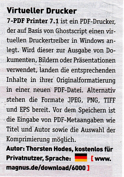 PC - Magazin