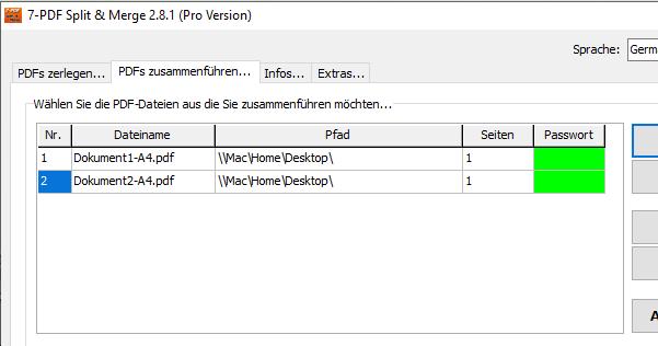 zwei pdf dokumente zusammenfügen